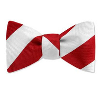 Kappa Alpha Psi Striped Bow Tie