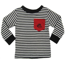 Knuckleheads Pocket Striped Long Sleeve Tee