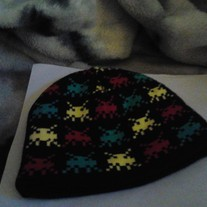 Space Invaders beanie (Med)