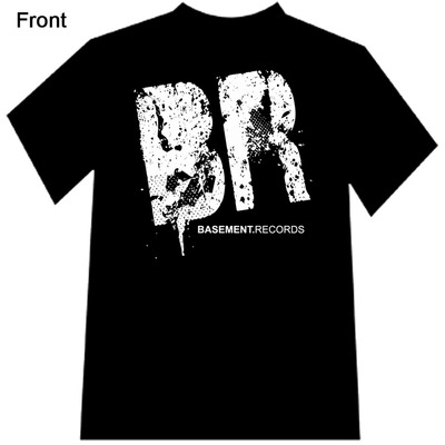 Basement records logo t-shirt