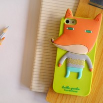 New Cute Korean Design Animals iPhone Case Cover