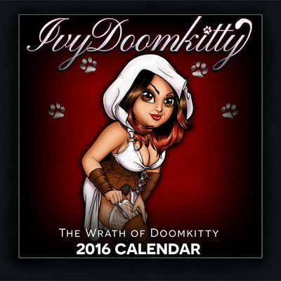 Sale! 2016 ivy doomkitty limited edition calendar