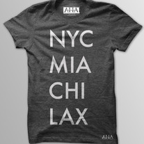 Cities - Men's Vintage Black Tri-Blend T-Shirt