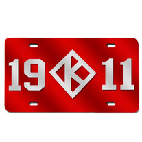 1911 Diamond License Plate