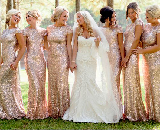 long bridesmaid dresses, sparkle bridesmaid dress, glittery ...
