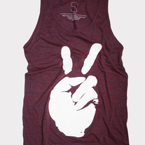PEACE MAKERS UNISEX TANK TOP