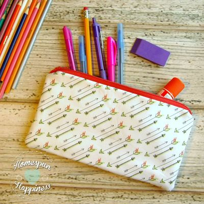 Pencil case - arrows