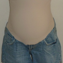 Denim Shorts-A Pea in the Pod Maternity Size Small  05186