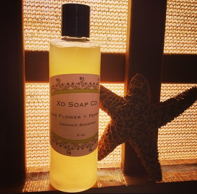 Pikake Flower + Peppermint Organic Shampoo