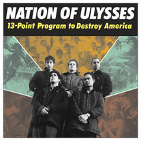 "Nation of Ulysses ""13 Point Program to Destroy America"" LP"