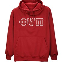 Old Skool Phi Nu Pi Pullover (Red)