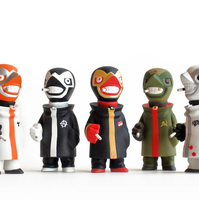 Kozik * mini gobi 5 piece collection set