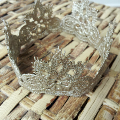 Ornate gold crown