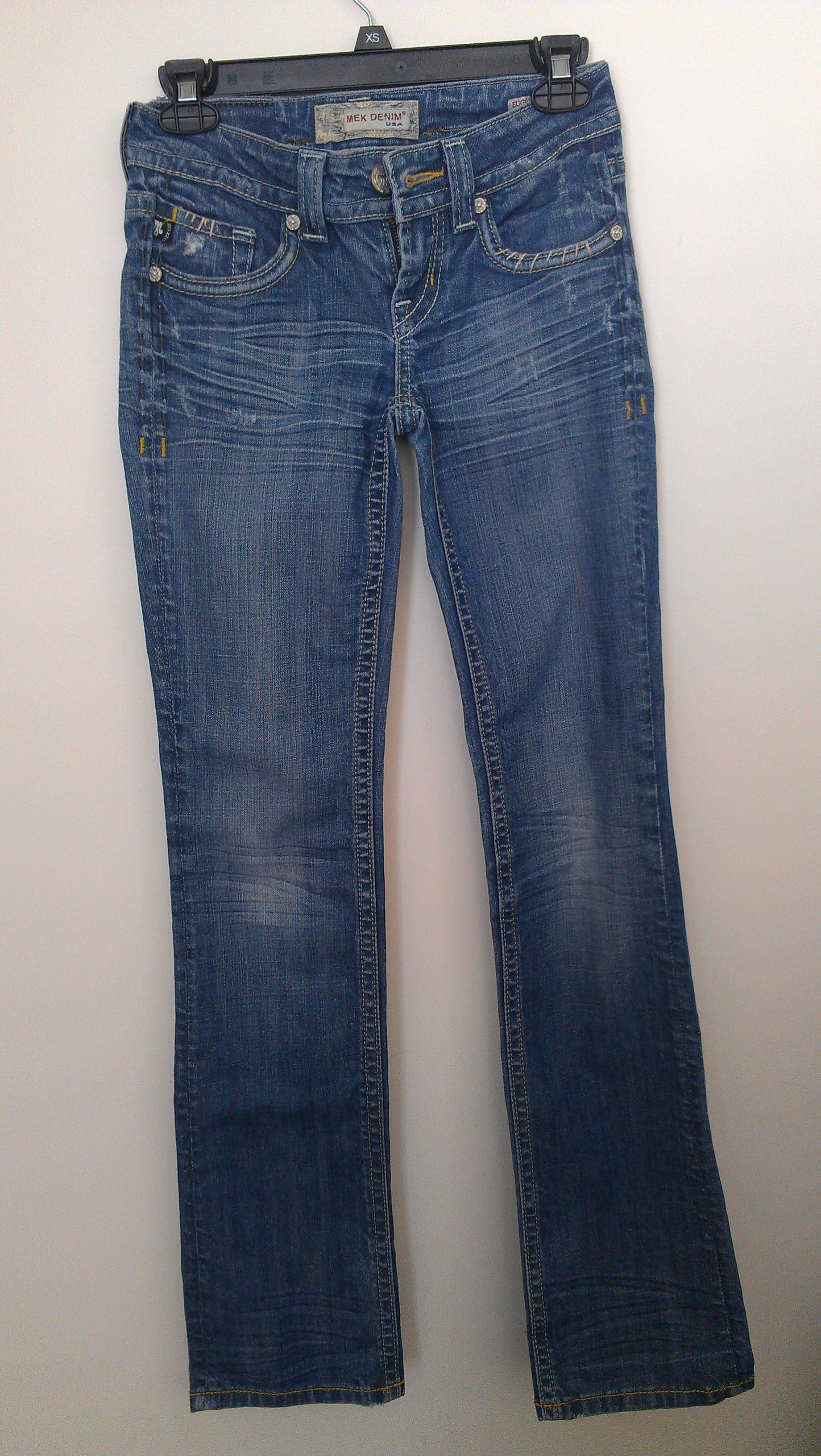 denim straight jeans mek cececouture online store. Black Bedroom Furniture Sets. Home Design Ideas