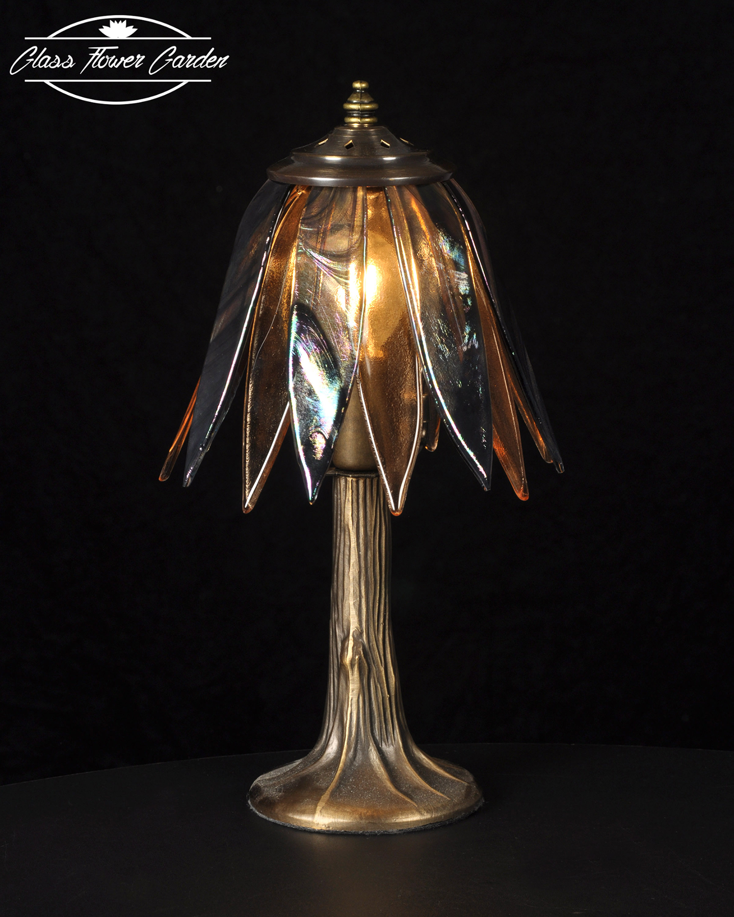 Translucent glass shaded lamp glass flower garden online store translucent glass shaded lamp mozeypictures Gallery