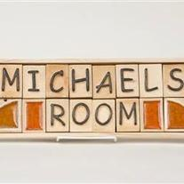 Michaels Room - Kids Room Sign