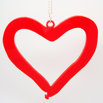 Balloon Heart Necklace