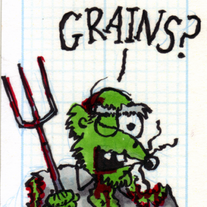 Sketch Card: Farmer Zombie