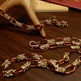 Chocolate Scherzo Chainmaille Necklace Set - Thumbnail 1