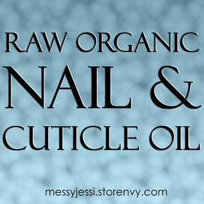 Raw organic nail & cuticle oil - 15ml