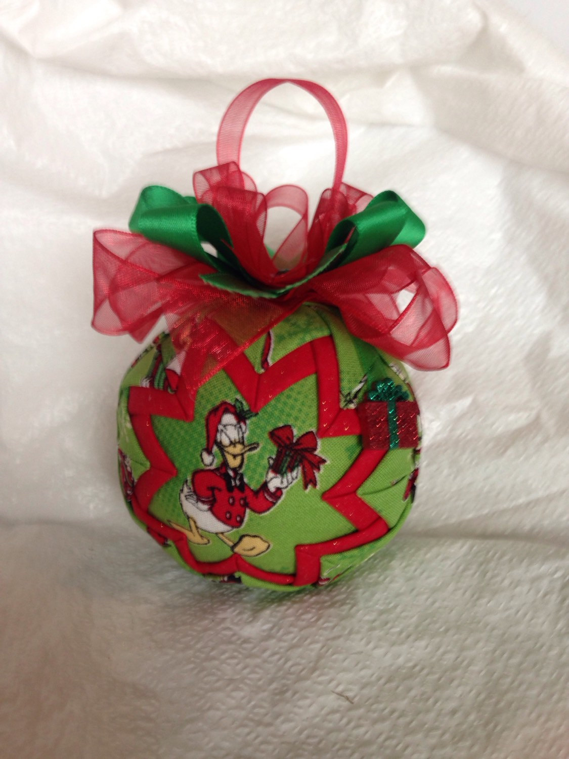 Disney Inspired Donald Duck Gifts Quilted Christmas Ornament From Ncgal Creations
