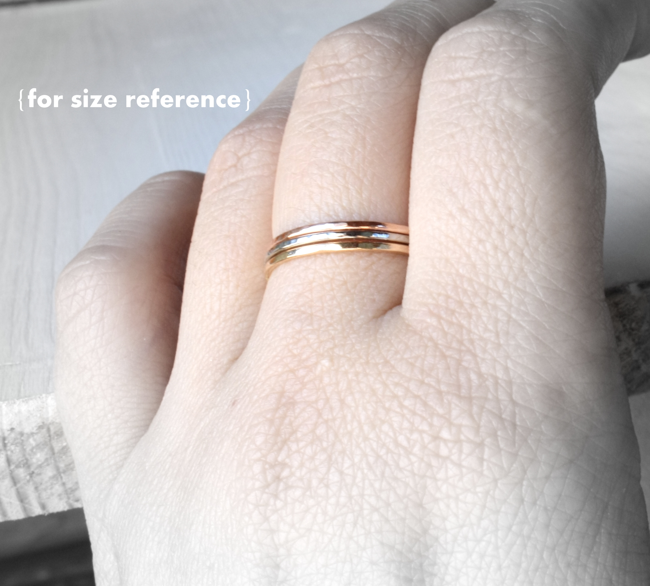 filled gold fullxfull thin il zoom stackable listing rings ring