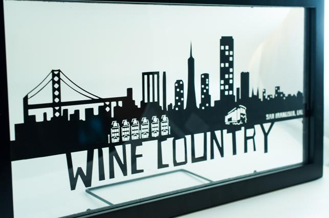 San Francisco PaperCut Skyline Wall Art | San Francisco Skyline ...