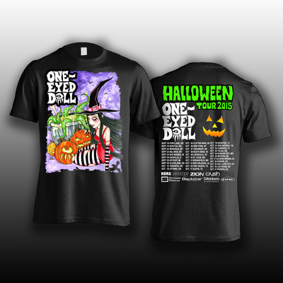 Halloween tour collector's shirt