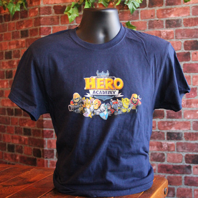 Navy hero academy shirt