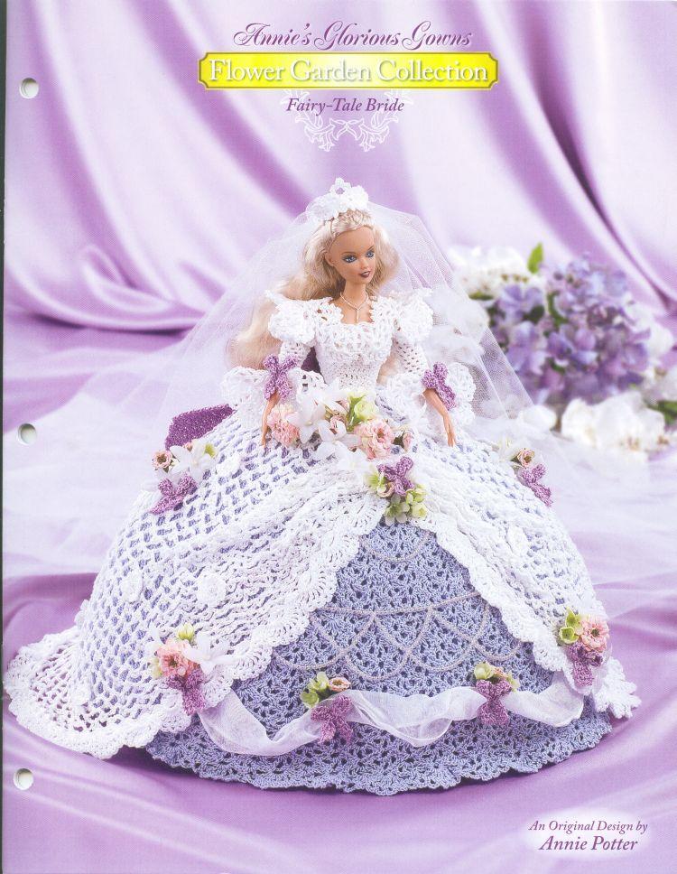 Flower Garden Collection Fairy Tale Bride Bed Doll Kuulthredz