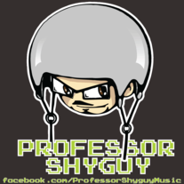 "Professor Shyguy ""Face"" Sticker"