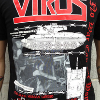 The Virus - No War Can Be Won Shirt medium photo