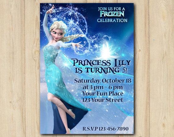 Frozen invitation disney frozen elsa birthday custom printable file frozen invitation disney frozen elsa birthday custom printable file diy020 stopboris Choice Image