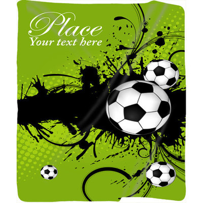 Show Your Colors BlanketsThrows Online Store Powered By Storenvy Simple Soccer Blankets And Throws