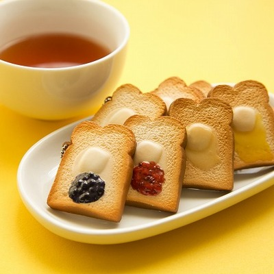 Mini squishy toasts from tokyo bread bakery! limited!