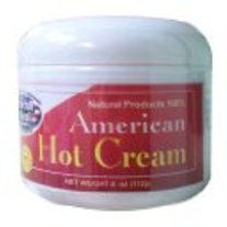 American Hot Cream 4 oz (Excessive Body Fat Reducer) by American Natural