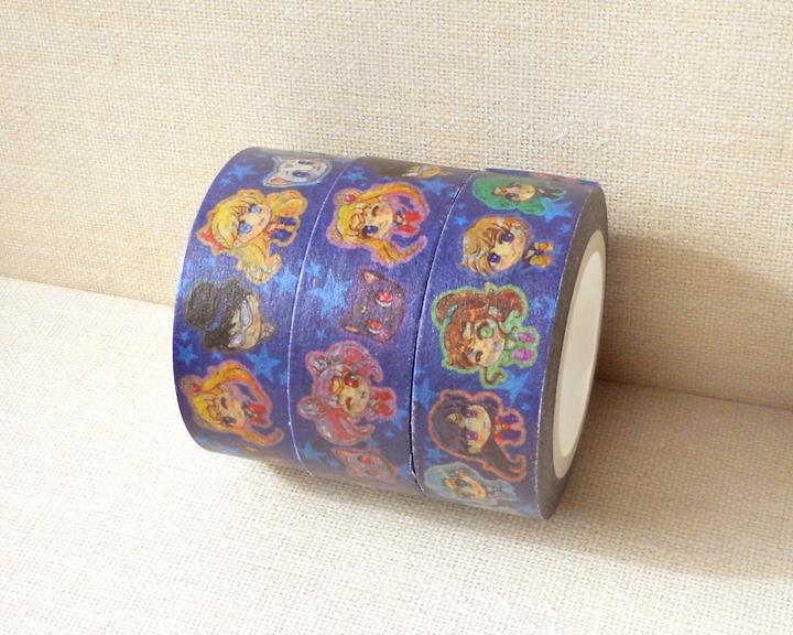 Sailor Moon Washi Tape Anime Washi Tape Scrapbook