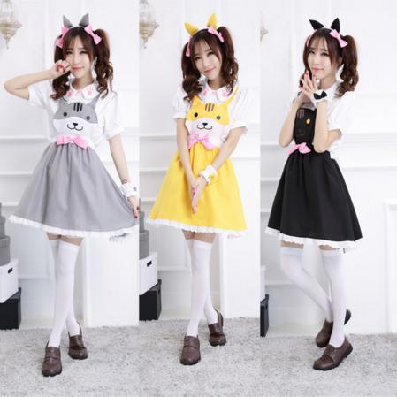Neko Atsume Dress Set 183 Pocket Tokyo 183 Online Store