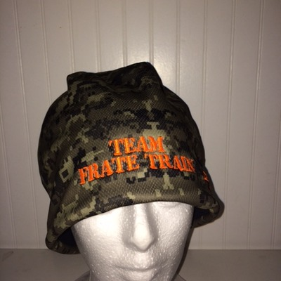 Camo frate train winter hat