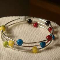 Multi-Color Bangle Bracelet