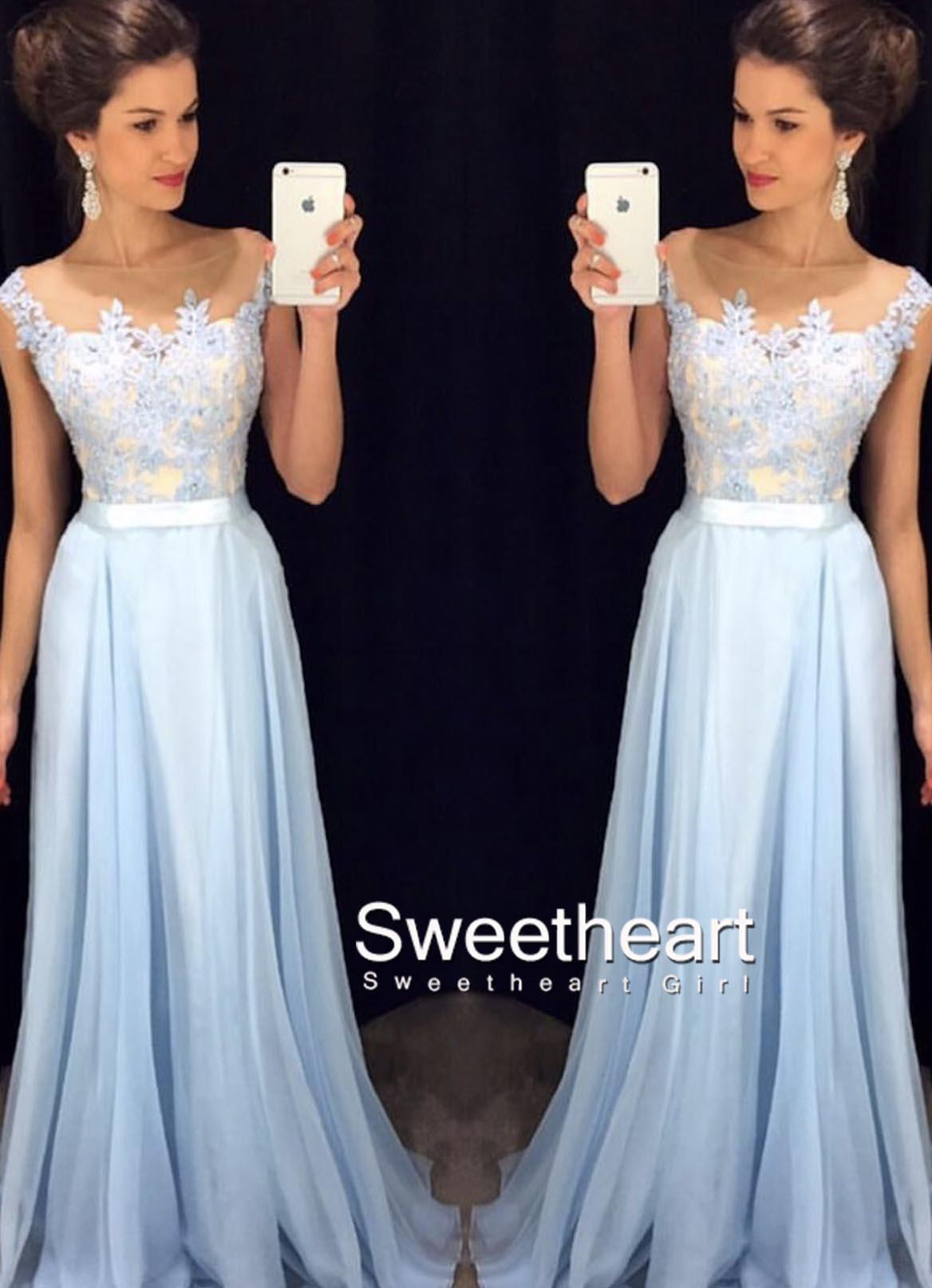 around the neck prom dresses