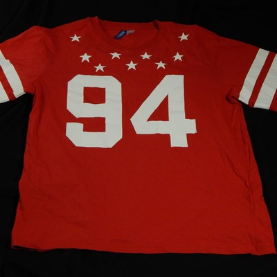 94 jersey tee size large