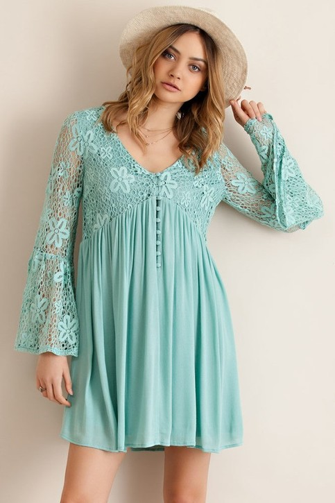 Barbara Lace Dress