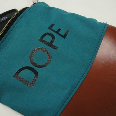 """dope"" make up or medicine bag"