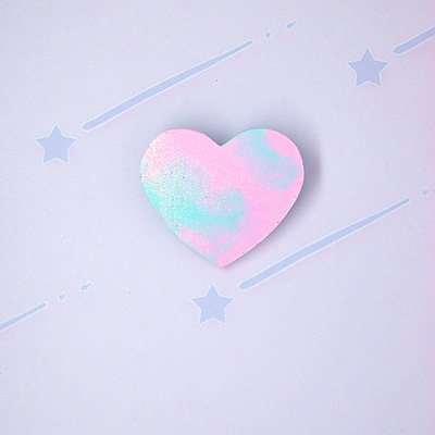 Marble pastel heart♡02