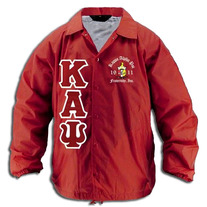 Big & Tall Kappa Alpha Psi Red Line Crossing Jacket