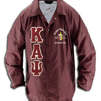 Big & Tall Kappa Alpha Psi Krimson Line Crossing Jacket
