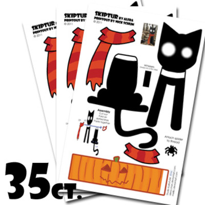 Skiptur papercraft halloween handout (35ct. tooth saver package)