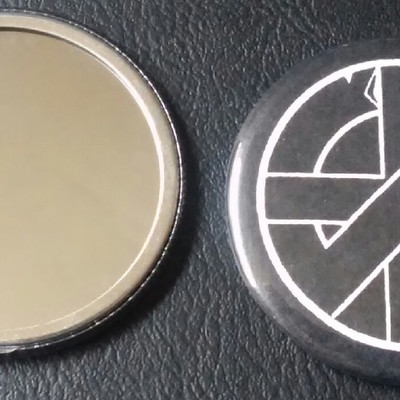 Crass pocket mirror