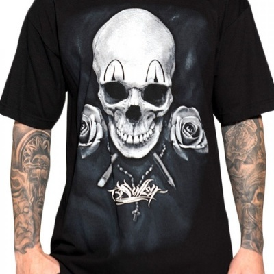 Sullen clown badge tee